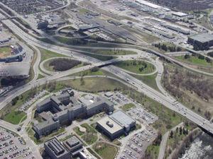 Route express de Vanier à la route 174 d'Ottawa