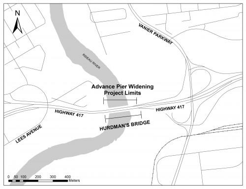 Hurdman Key Map